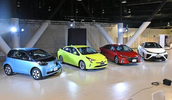 รถยนต์ไฟฟ้ากำลังได้รับความนิยม