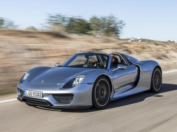 รูปโฉม Porsche 918 Spyder ซุปเปอร์คาร์เครื่องยนต์ไฮบริด