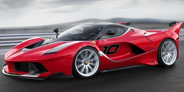 รถ Ferrari FXX-K