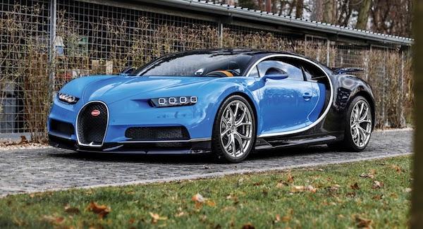 รูปลักษณ์ภายนอก Bugatti Chiron