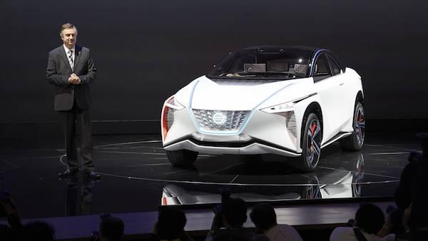 รถ Nissan IMx ที่งาน Tokyo Motor Show