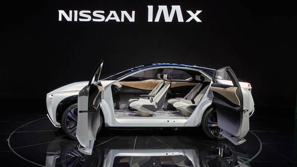 ดีไซน์ภายในรถ Nissan IMx