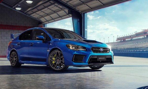 รถ Subaru WRX STI