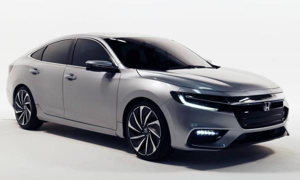 New Honda Insight 2018 ขุมพลังไฮบริด พร้อมเปิดตัวแล้วที่สหรัฐฯ