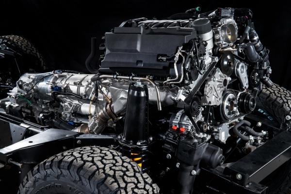 กระหึ่มแน่กับ เครื่องยนต์ V8 ความจุ 5.0 ลิตร