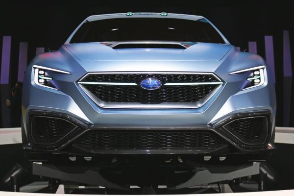 กลายพันธุ์จาก WRX สู่ Subaru Viziv STI Performance Concept