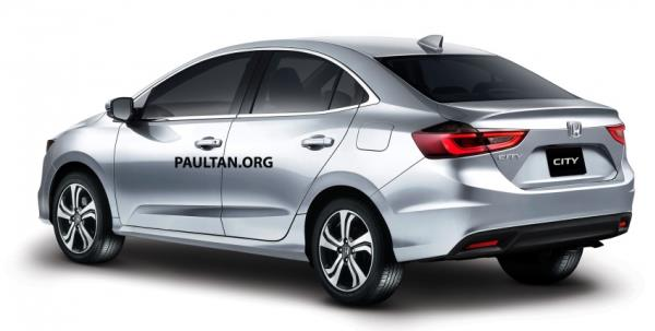 ภาพเรนเดอร์ของนักออกแบบอิสระเว็บ Paultan ที่รังสรรค์ Honda City All New 2018