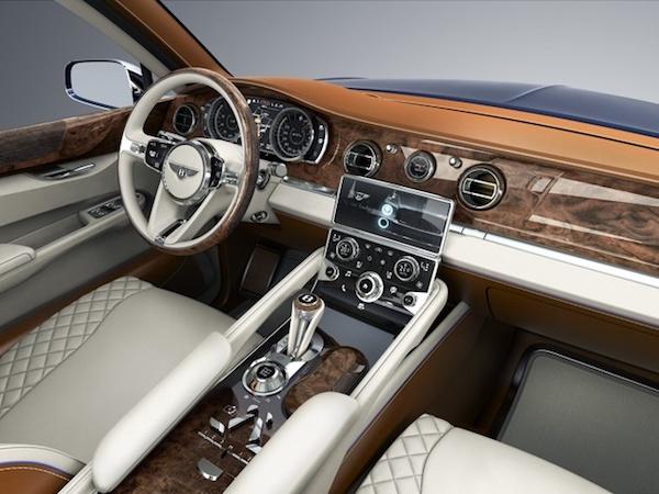 รูปลักษณ์ภายใน  Rolls-Royce Cullinan