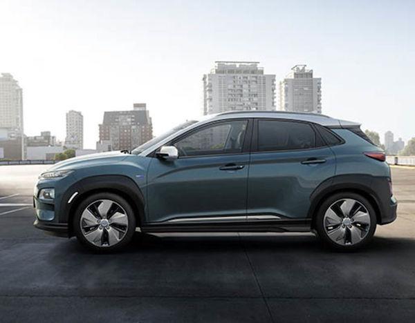 รูปลักษณ์ภายนอก Hyundai Kona Electric 2018
