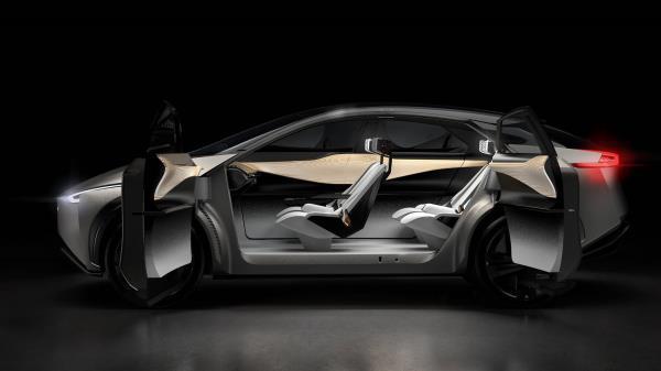 ดีไซน์ Nissan IMx KURO (นิสสัน ไอเอ็มเอ็กซ์ คุโร) 