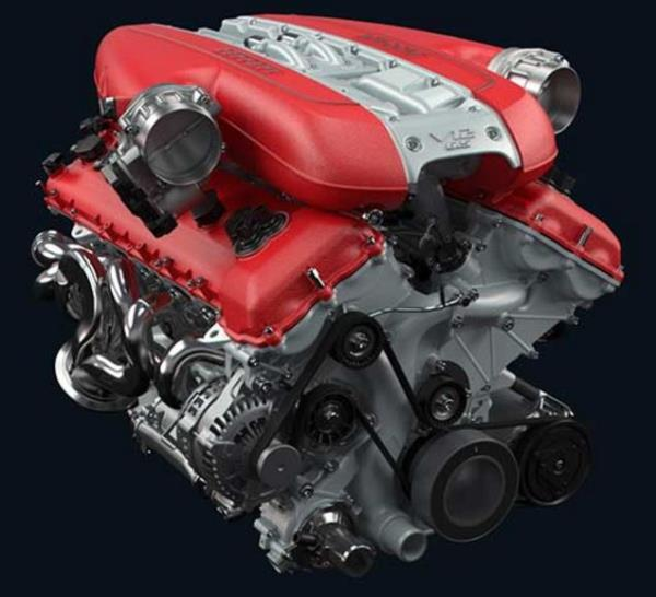 เครื่องยนต์ Ferrari รุ่น 812 Superfast