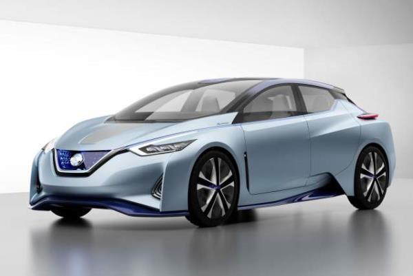 รูปโฉม  Nissan Leaf  ที่ขับเคลื่อนด้วยพลังงานไฟฟ้า
