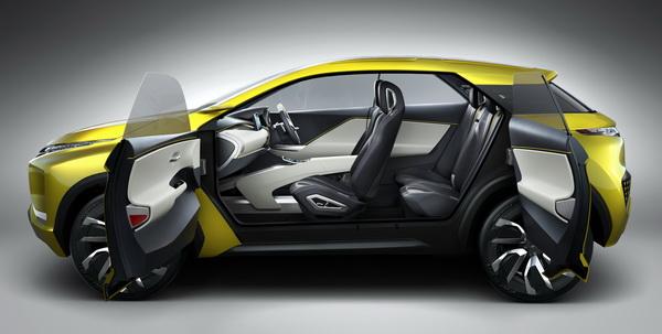 Mitsubishi eX Concept 2018 ห้องโดยสาร