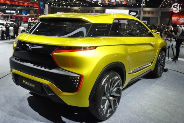 Mitsubishi eX Concept 2018 โฉมท้าย