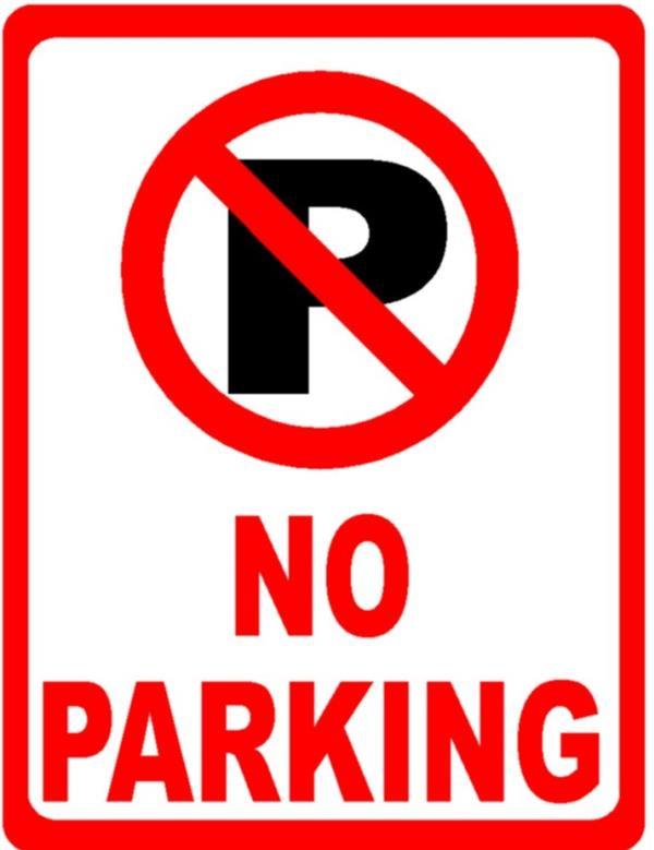 อย่าจอดรถในที่ที่มีป้ายห้ามจอด