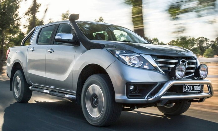 Mazda BT-50 Minor Change 2018