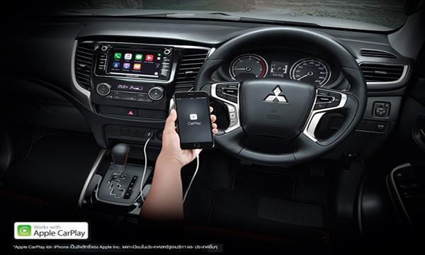 ระบบ Apple Carplay เชื่อมต่อ iPhone