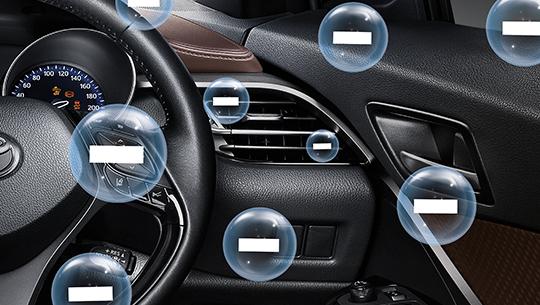 ระบบกรองอากาศภายในห้องโดยสารแบบ Nanoe
