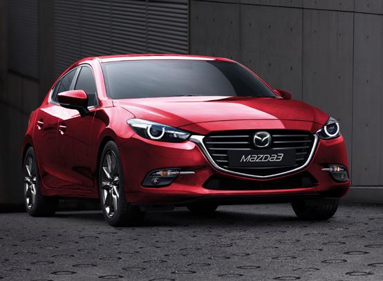 Mazda 3 Skyactiv 2018