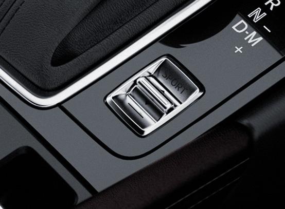 สวิตช์ Drive Selection เลือกเปลี่ยนโหมดการขับขี่เป็นแบบ Sport