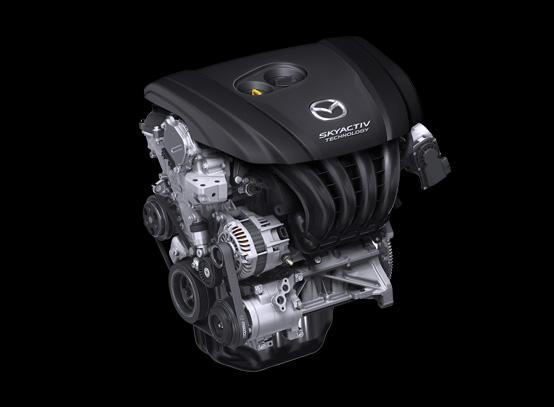 เครื่องยนต์เบนซิน Skyactiv-G ขนาด 2.0 ลิตร ใน Mazda 3 2018