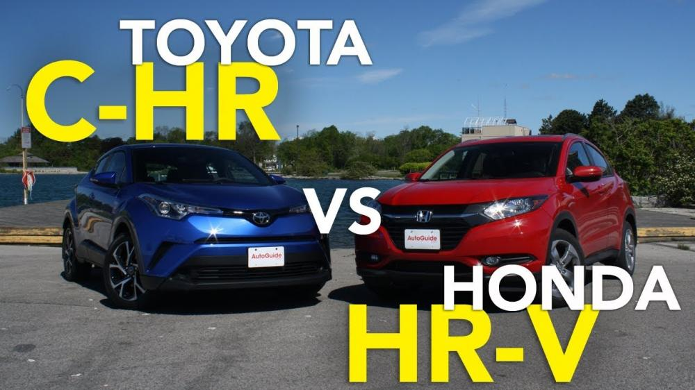 Toyota C-HR 2018 vs. Honda HR-V 2018