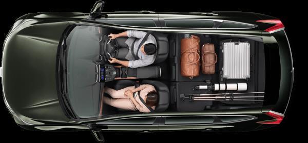 ภายในห้องโดยสารของ Honda CR-V