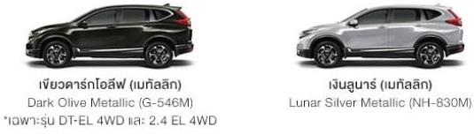 Honda CR-V รุ่น DT-EL 4WD