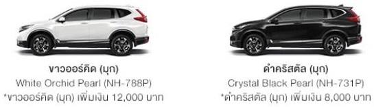 Honda CR-V รุ่น DT-E