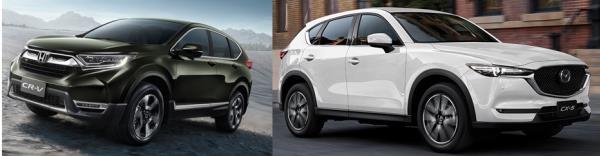 จับรถ SUV ระดับเกรดพรีเมี่ยม มาประชัน ระหว่าง Honda CR-V vs. Mazda CX-5