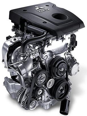 เครื่องยนต์ดีเซล Mivec VG Turbo DOHC 16 วาล์ว ขนาด 2.5 ลิตร