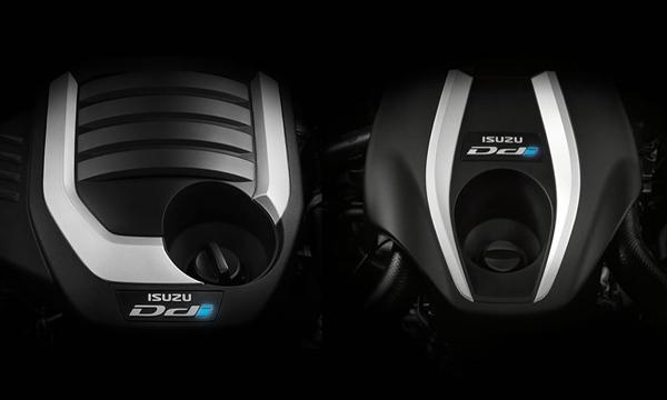 เครื่องยนต์ดีเซลขนาด 1.9 ลิตร และ 3.0 ลิตร ใน Isuzu MU-X  The Iconic 2018