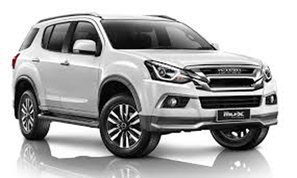 Isuzu MU-X  The Iconic 2018