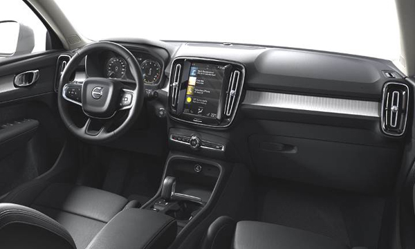 ภายใน Volvo XC40 2018 มาพร้อมฟังก์ชั่นอำนวยความสะดวกครบครัน