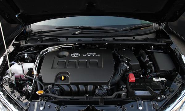 เครื่องยนต์เบนซิน Dual VVT-i 4 สูบ ขนาด 1.8 ลิตร