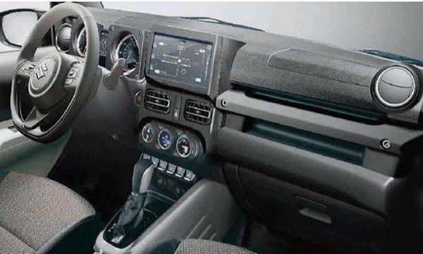 แผงคอนโซลหน้า Suzuki Jimny 2018 ให้ความสปอร์ตมากขึ้น