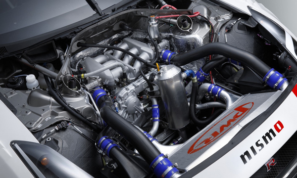 เครื่องยนต์ V6 Twin Turbo