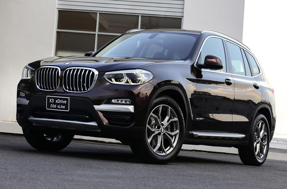 BMW X3 xDrive 20d xLine 2018 มากับช่วงล่างล้ออัลลอยจาก Y-Spoke ขนาด 19 นิ้ว