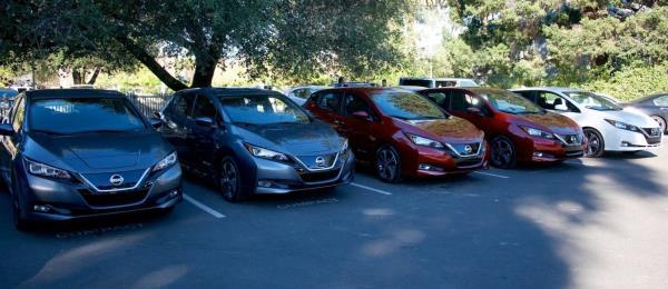 Nissan รถยนต์พลังงานไฟฟ้า