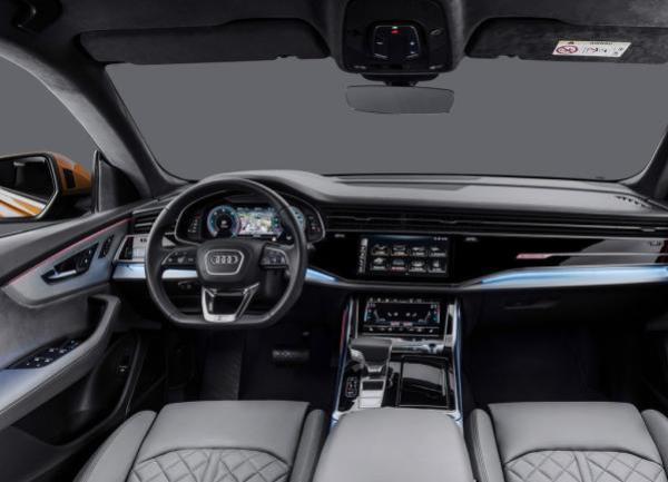 ภายในของ Audi Q8 2019
