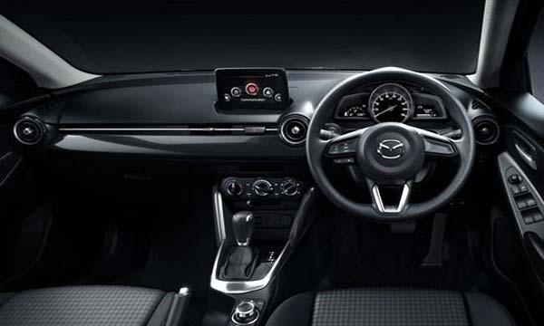 ภายใน Mazda 2 Sedan ดีไซน์เรียบหรู