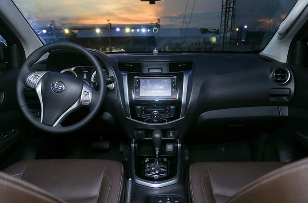 ภายใน Nissan Terra มาพร้อมฟังก์ชั่นอำนวยความสะดวกสุดครบครัน