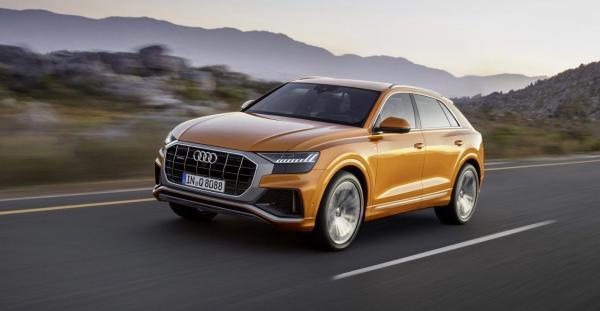 เผยโฉม Audi Q8 2019