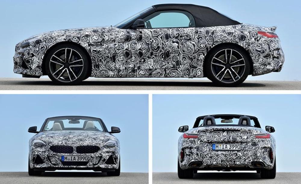 เมื่อเทียบกับ Z4 รุ่นก่อนหน้านี้ BMW Z4 2019 จะยาวมากกว่า 3.2 นิ้ว ตัวรถกว้างกว่า 2.8 นิ้ว และสูงกว่าเพียง 0.5 นิ้วเท่านั้น