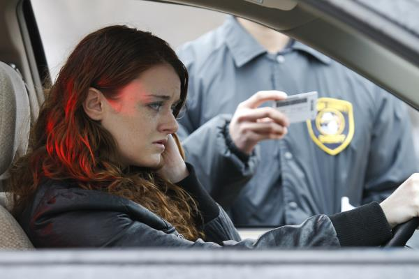 ถูกจับยึดใบขับขี่