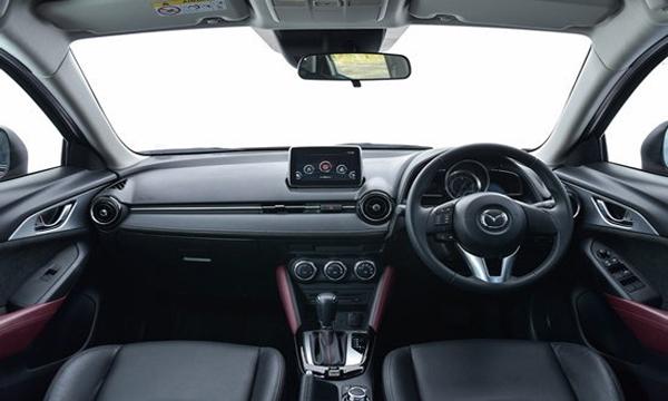 คอนโซลหน้า Mazda CX3 สปอร์ต โดนใจนักขับ