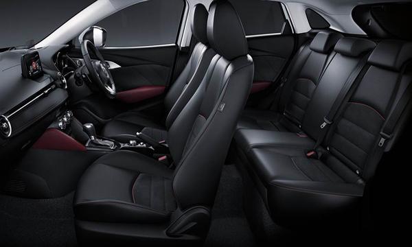 ภายใน Mazda CX3 มาพร้อมห้องโดยสารขนาดกว้างขวาง