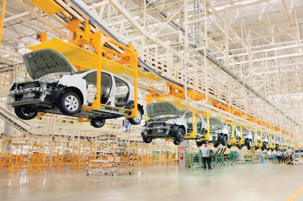 ยอดการผลิตรถยนต์เพื่อการส่งออกเพิ่มขึ้น