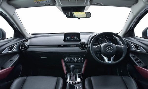 ภายใน Mazda CX3 เรียบหรูพร้อมฟังก์ชั่นอำนวยความสะดวกครบครับ