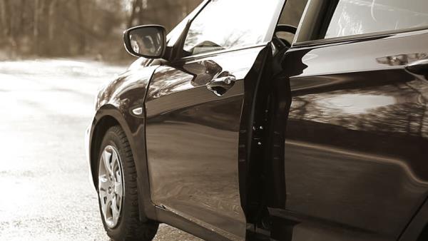 ปิดประตูรถไม่สนิท